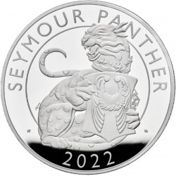 UK 1 oz silver The SEYMOUR PANTHER 2022 £1 PROOF Box + Coa The ROYAL TUDOR BEASTS COLLECTION