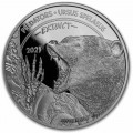 CONGO 1 oz silver Predators HALIAEETUS LEUCOCEPHALUS BU 20fr.