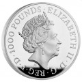 UK 2 KILO silver The SEYMOUR PANTHER 2022 £1000 PROOF Box + Coa The ROYAL TUDOR BEASTS COLLECTION