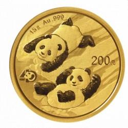 Gold CHINA PANDA 15 GR 2022 Yuan 200
