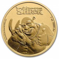 Niue 1 oz gold SHREK 2021 $250 Anniversary