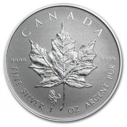 1 oz silver MAPLE LEAF 2014 Horse Privy