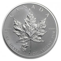1 oz silver MAPLE LEAF 2016 Wolf