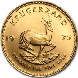 1 OZ GOLD KRUGERRAND 1975