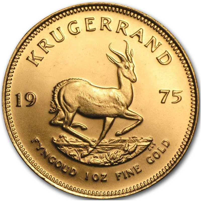 1 Oz Gold Krugerrand 1975 Goldsilver Be