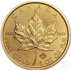 Gold Maple Leaf 1 oz 2018