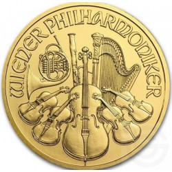 Gold WIENER PHILHARMONIKER 1 oz 2018