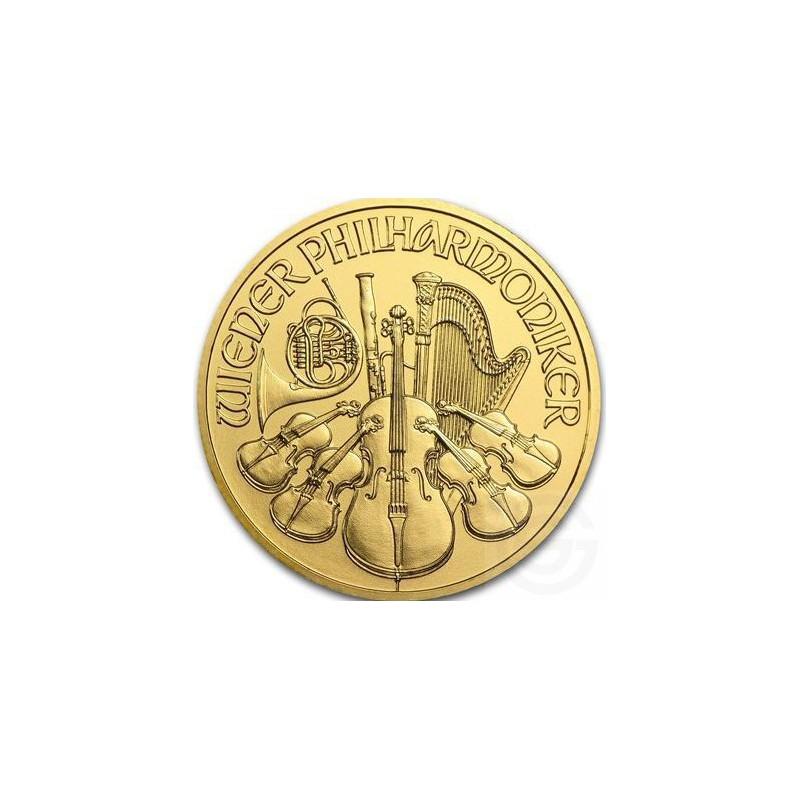 Goud Wiener Philharmoniker 1 Oz 2018 Goldsilver Be