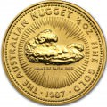 Or NUGGET 1/2 oz gold 1986