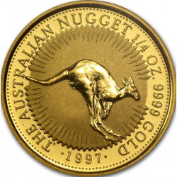GOLD NUGGET 1/4 oz 1997