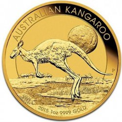 1 oz gold NUGGET 2015
