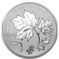 CANADA 1/2 oz silver MAPLE LEAFS 2016