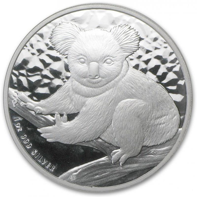 1 Oz Silver Koala 2009 Goldsilver Be