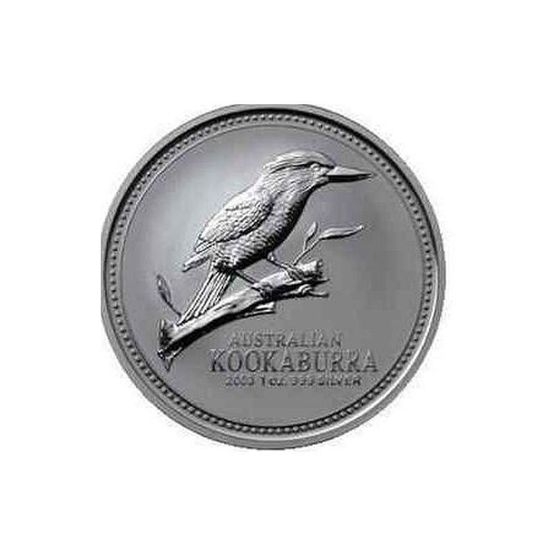 1 Oz Silver Kookaburra 2003 Goldsilver Be