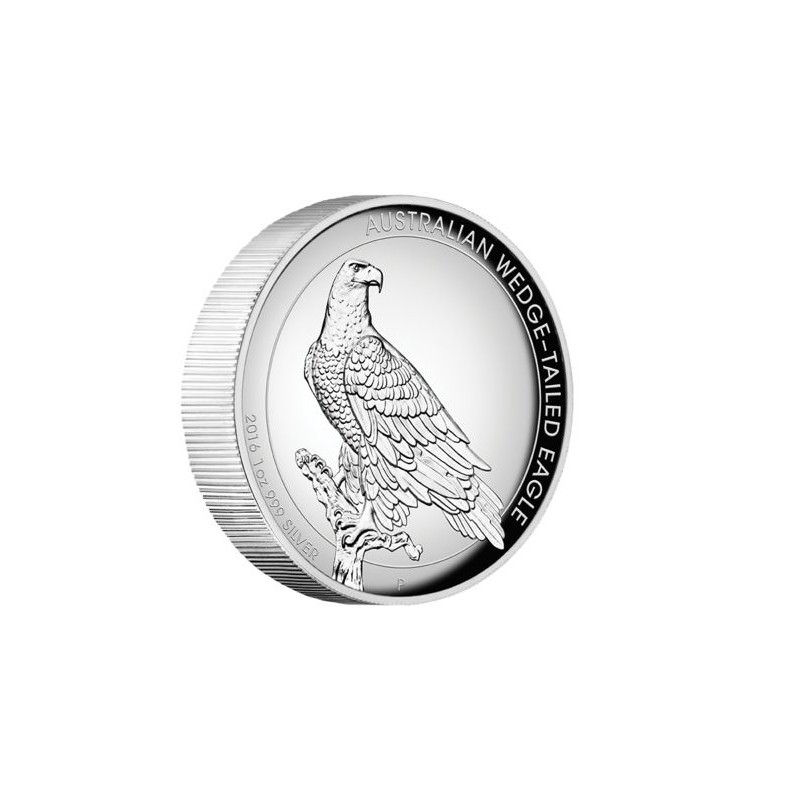 1 Oz Silver Wedge Tailed Eagle 2016 High Relief Proof Box