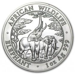 1 oz silver ELEPHANT 2007