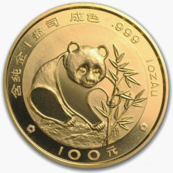 1 oz gold PANDA 1988 sealed