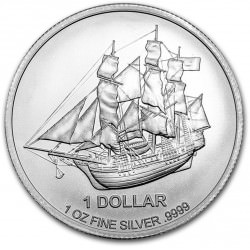 1 oz silver COOK ISLANDS 2016