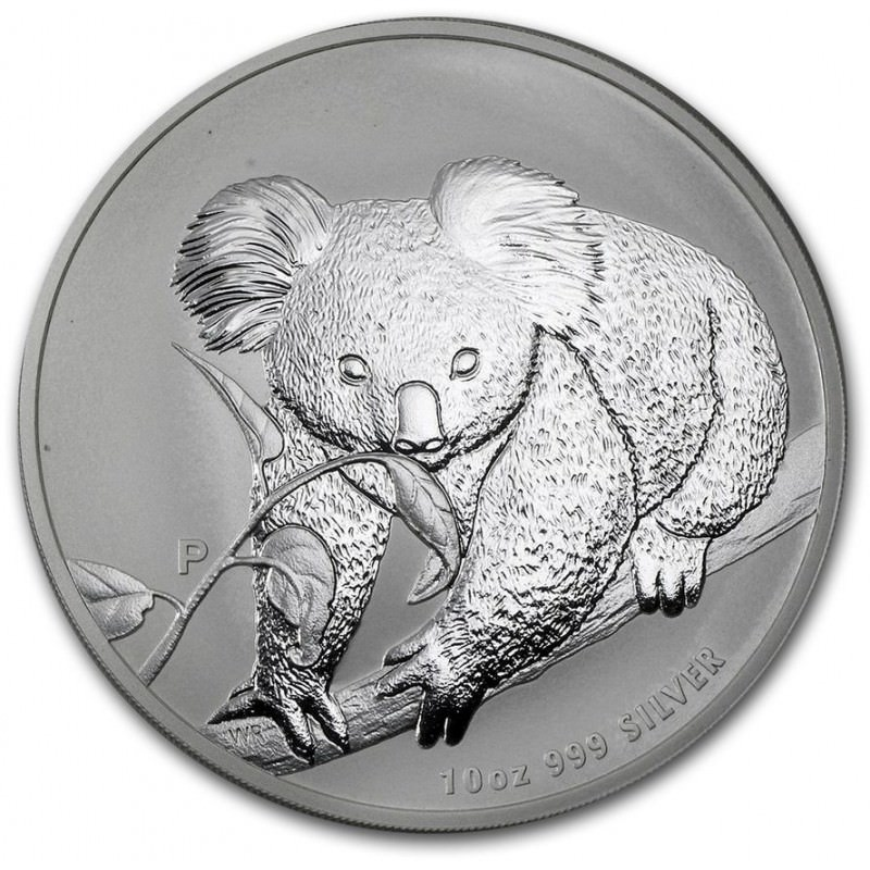 10 Oz Silver Koala 2010 Goldsilver Be
