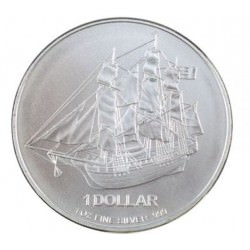 1 oz silver COOK ISLANDS 2010 $1