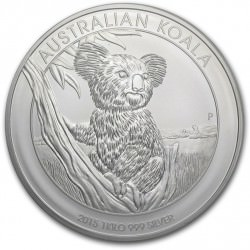 1 kilo silver KOALA 2015