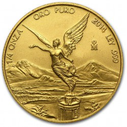 1/4 oz gold LIBERTAD 2014