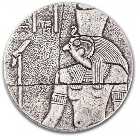 Chad 2 oz silver HORUS 2016