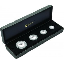 Australian Kangaroo 2016 Silver Proof Four-Coin Set