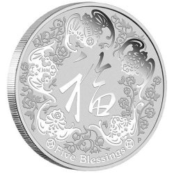 1 oz silver FIVE BLESSINGS 2016