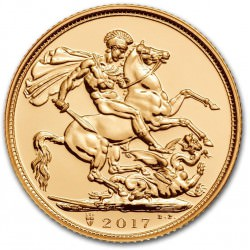 FULL GOLD SOVEREIGN 2017 Privy 200