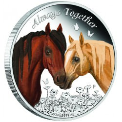 Toujours ensemble 2017 1/2oz Silver Proof Coin