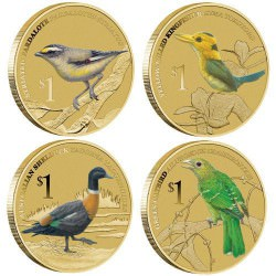 Australian BIRDS 2013 Stamp and Coin Covers – Complete Series