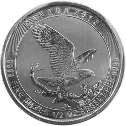 1/2 oz silver BALD EAGLE 2016