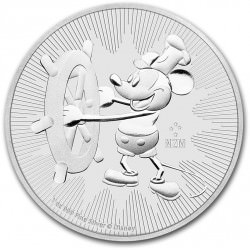 1 oz silver STEAMBOAT WILLIE 2017