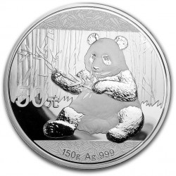 150 GR silver PANDA 2017 Proof + box + certificate