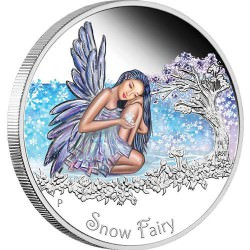 1/2 oz silver SNOW FAIRY 2015