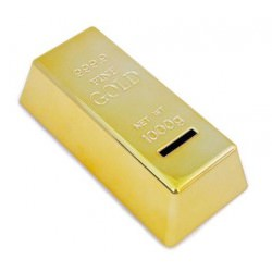 Gold Bullion Money Box