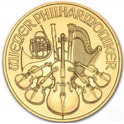 1/2 oz gold WIENER PHILHARMONIKER