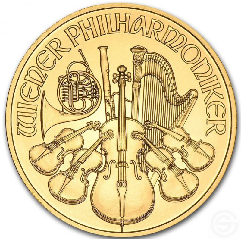 Wiener Philharmoniker 1 2 Oz Gold Goldsilver Be