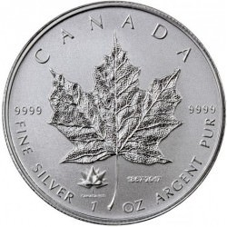 1 oz silver MAPLE LEAF 2017 privy Maple Leaf