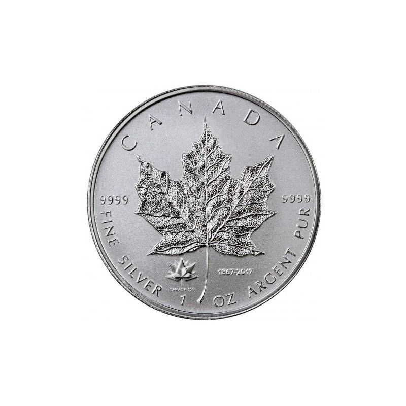 1 Oz Silver Maple Leaf 2017 Privy Maple Leaf Goldsilver Be