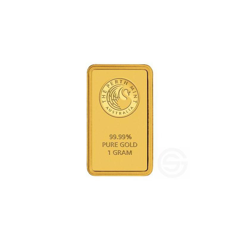 Lingot 1 Gramme Perth Mint Goldsilver Be