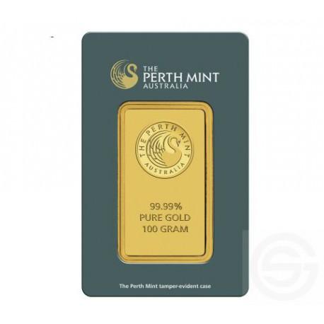 Lingot 100 Grammes Perth Mint Goldsilver Be