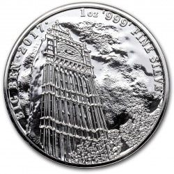 1 oz silver BIG BEN 2017 - Landmarks of Britain