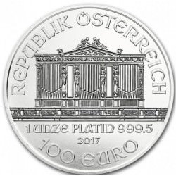 1 oz PLATINIUM PLATINUM PHILHARMONIKER 100€