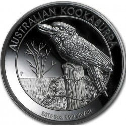 5 oz silver KOOKABURRA 2016 High relief ( Box+Coa )