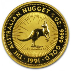 1/2 oz gold NUGGET 1991