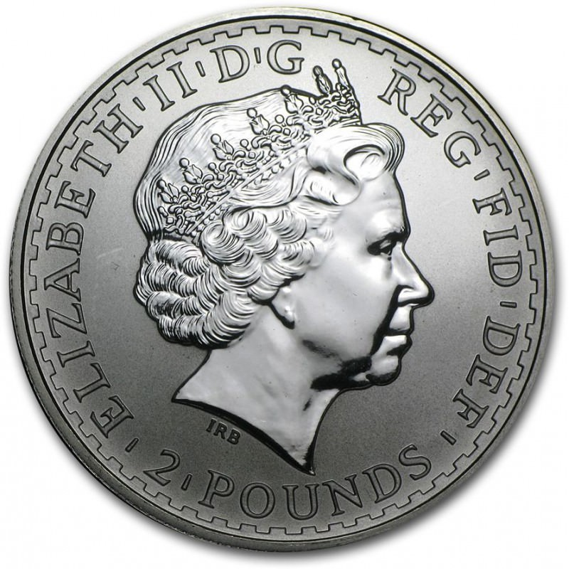 1 Oz Silver Britannia 1999 Goldsilver Be