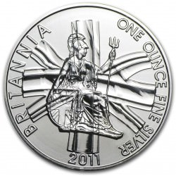 1 oz silver BRITANNIA 2011