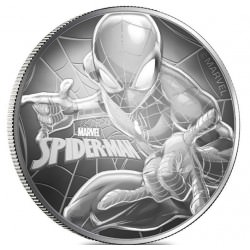 1 oz silver TUVALU 2017 MARVEL serires SPIDERMAN